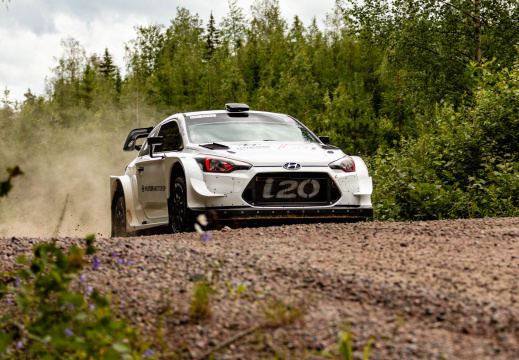 Thierry Neuville - Rally Finland test 2019